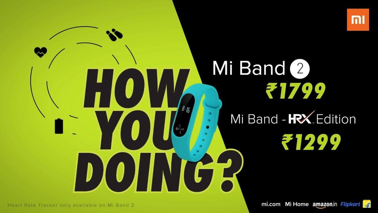 Mi Band 2   HRX   How You Doing - Xiaomi India