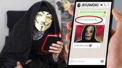 GAME MASTER schreibt AYUWOKI in WhatsApp Chat !!! | WASWIR