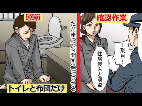 日本の女子刑務所に勤めたらどうなるのか。その実態をマンガにしてみた。