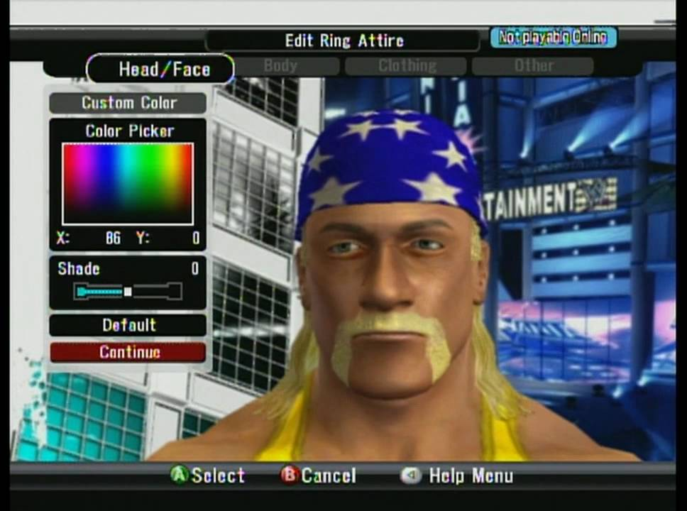 West Coast Caws SVR 2009 How to Make Hulk Hogan