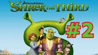 Shrek the Third (PS2) w/ Chloe Part 2 - Radio and 7 Eleven