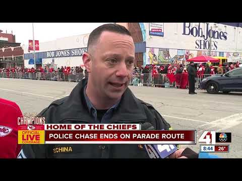 KCPD, Mayor Lucas Say No Injuries After Police Chase