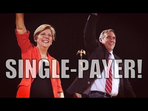 Elizabeth Warren & Jeff Merkley Come Out Swinging for Single-Payer Healthcare