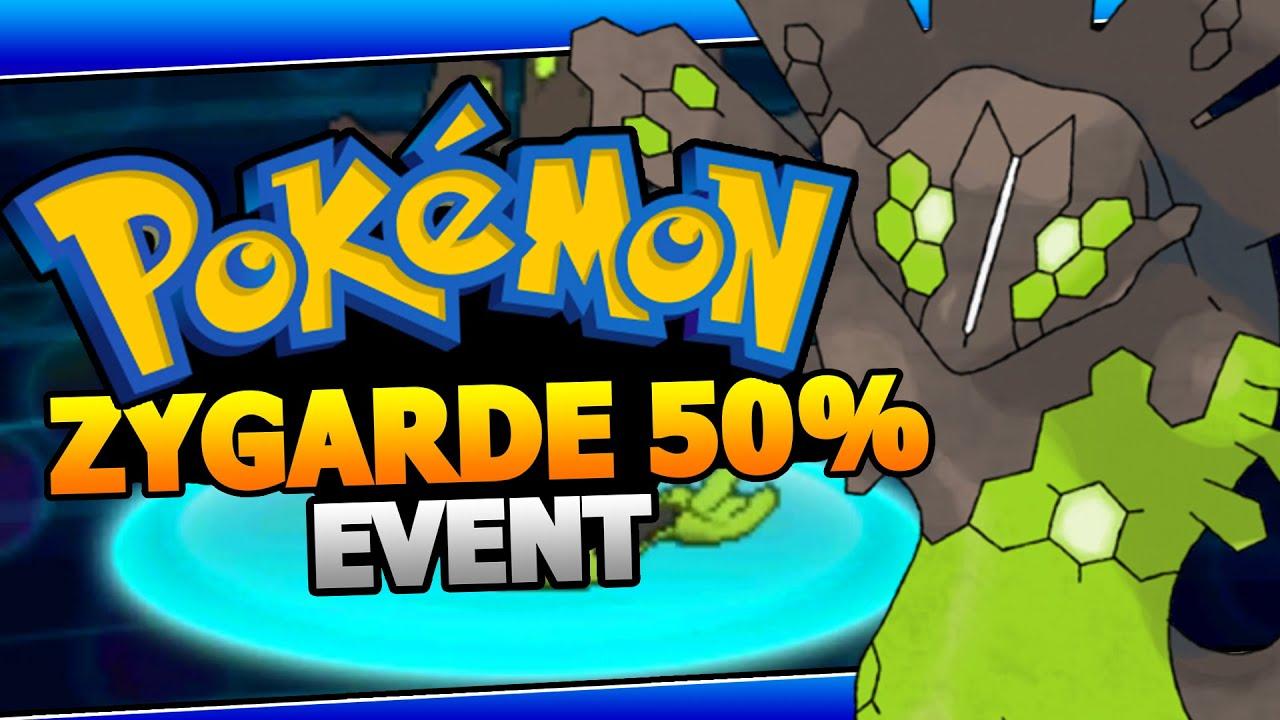 ZYGARDE 50% Form Event - Pokemon X/Y ORAS Zygarde Mystery Gift ...