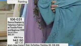 Donna Dewberry Fabulous Fabrics Textile Painting Kit -...