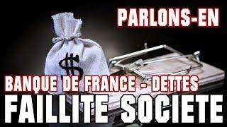 💸 RETOUR DANS LE PASSE - FAILLITE SOCIETE - BANQUE DE FRANCE