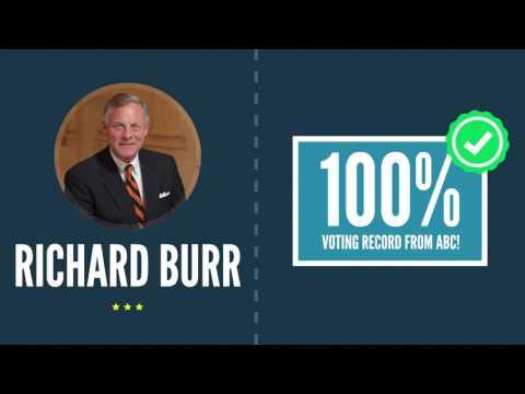 Richard Burr Supports Free Enterprise