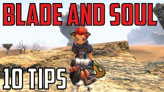 Blade & Soul - 10 tips for new players