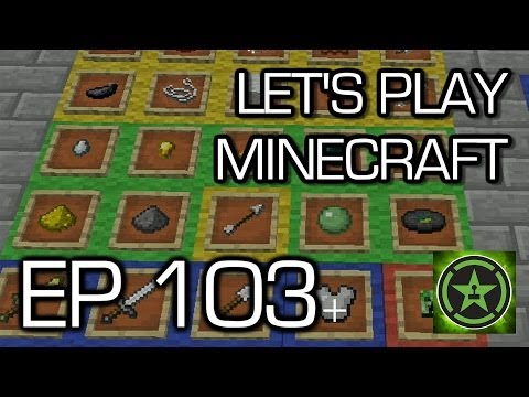 Let's Play Minecraft: Ep. 103 - Dropping List