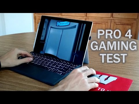 Surface Pro 4: Gaming & Performance Test