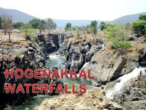 Hogenakkal Waterfalls in South India | Niagara Falls of India -Hogenakkal Falls