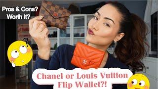 Video Chanel Flip Wallet VS Louis Vuitton Victorine Wallet? Comparison Video!! download MP3, 3GP, MP4, WEBM, AVI, FLV Agustus 2018