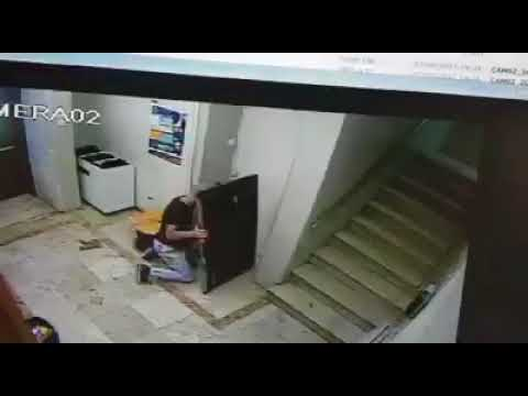 Isn't it Ironic? Religious Man Steals from a Synagogue [Caught on Cam]