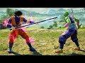SOUL CALIBUR 6 - GOKU vs PICCOLO Gameplay (Custom Characters) @ 1440p (60ᶠᵖˢ) HD ✔