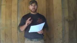 Why I Hunt: My College Speech