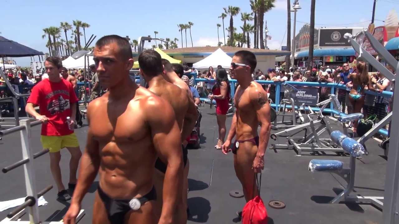 Marc-arthur (Moses) Dautruchee at Muscle Beach | Ian L. Sitren