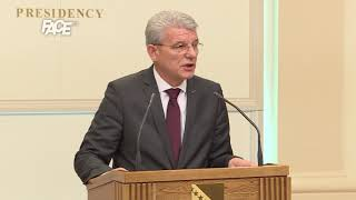 Džaferović: Dodikovi stavovi nevažni. Odluke Narodne skupštine RS-a nebitne.