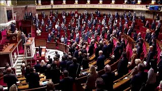 Nice knife attack: lawmakers hold minute of silence for victims
