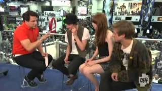 John Barrowman interviews Matt Smith, Karen Gillan Arthur Darvill SDCC 2012