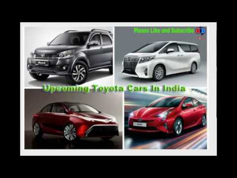 Upcoming Toyota Cars in India in 2017 – 2018