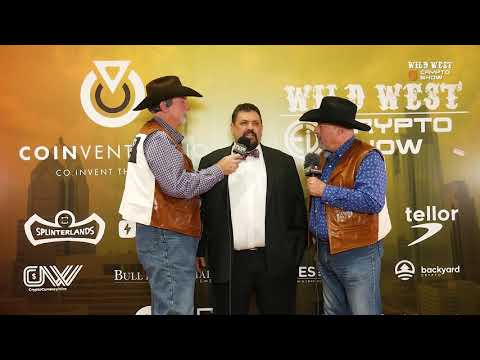 Wild West Crypto Show | Interview With Nick Spanos At Coinvention