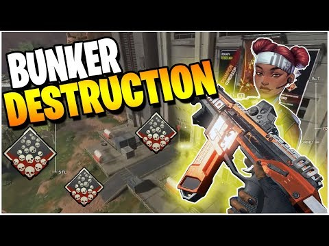 BUNKER DESTRUCTION (Apex Legends PS4)