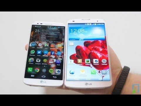 Vergleich: LG G Pro 2 vs. LG G2 deutsch | TBLT.de
