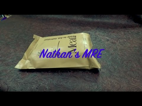 2003 (ish)  U.S. Military MRE Ration Review Menu 6 Chicken In Thai Sauce
