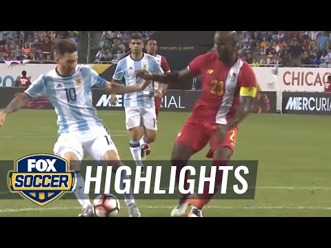 Messi completes his hat trick to make it 4-0 over Panama | 2016 Copa America Highlights