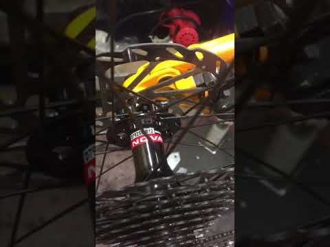 Novatec D792 B12 Boost Rear Hub Sound