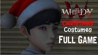 White Day: A Labyrinth Named School Full Game & Christmas costumes Gameplay (Dandelion Ending)