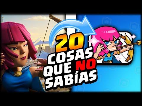 20 COSAS QUE NO SABÍAS DE CLASH ROYALE *Te Sorprenderan*