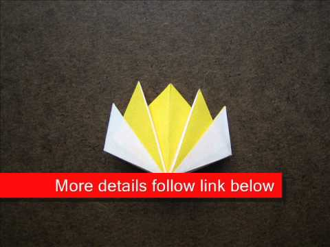 How to make an origami flower bookmark youtube how to make an origami flower bookmark mightylinksfo