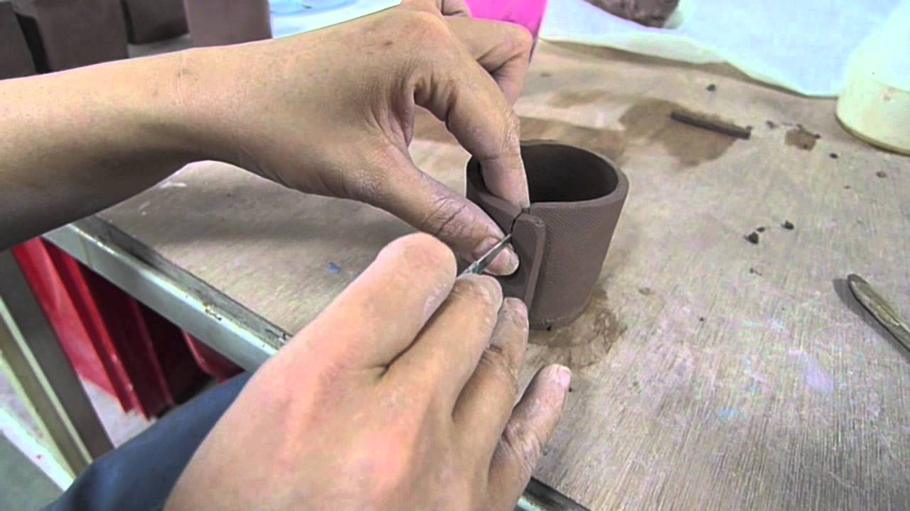 Making a bonsai pot clay craft malaysia youtube - Why you should cook clay pots ...