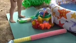 Новые игрушки для похода Игрушки для воды и песка Голубые Озера 2016(Всем привет! Это видео из нашей поездки на Голубые озера (Украина, Черниговская область - если заинтересует..., 2016-08-07T15:31:35.000Z)