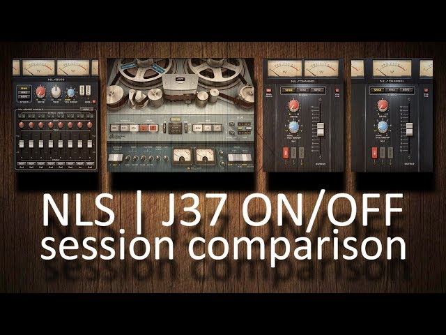 Waves NLS+J37 ON/OFF full session comparison