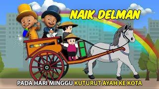 Naik Delman Upin Ipin Terbaru 2017 | Upin dan Ipin Naik Kuda Delman | Lagu Anak Populer Indonesia