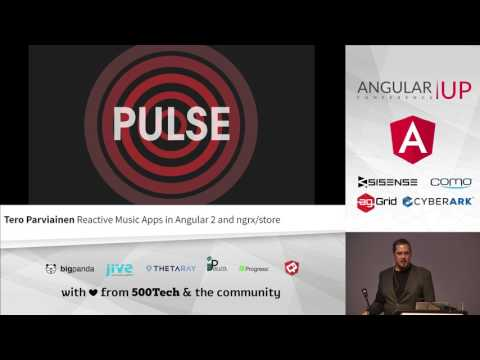 Tero Parviainen - Reactive Music Apps in Angular 2 and ngrx/store | AngularUP 2016