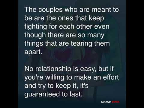 The couples who are meant to be