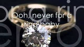 Toni Braxton Never just for a ring Lyric Video