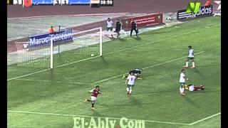 الهدف الثاني عن طريق كريم بامبو - مباراة المنتخب الأوليمبي المصري مع المغربي