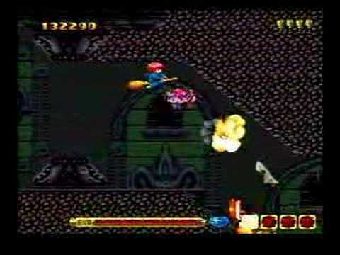 PC Engine Cotton gameplay and ending (one life clear)