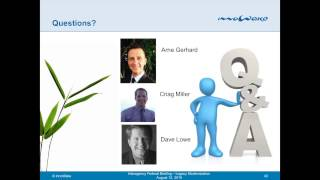 Legacy Systems Migration Briefing   August 2015