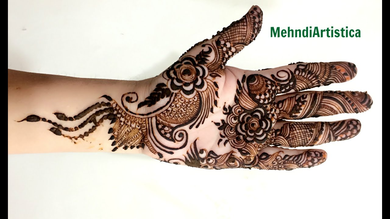 Elegant Henna Designs: Most Beautiful & Elegant Mehndi Designs For Hands:Modern