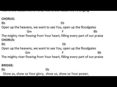Download open up the heavens chords mp3 free