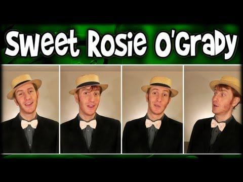 Sweet Rosie O'Grady (1896) - Barbershop Quartet