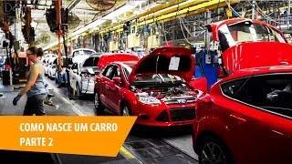 Automóvel, saiba como se faz um carro: produção e estratégia