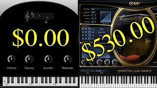 Can You Hear the Difference Between Cheap and Expensive VIRTUAL Pianos?