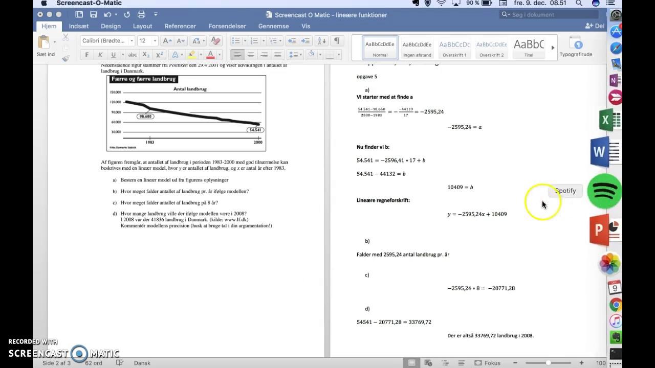 Opgave 5 Lineære modeller