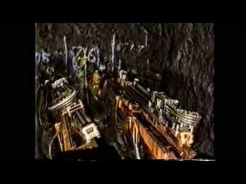 Jumbo drilling red mountain